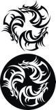 Tattoo from my fantasy Stock Image