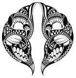Tattoo pattern Royalty Free Stock Image