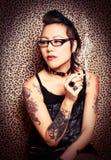 Tattoo Princess Stock Photography