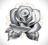 Tattoo Rose Stock Images