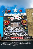 Tattoo Shop in London royalty free stock photography