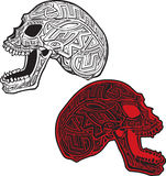 Tattoo Skull Royalty Free Stock Photos