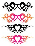 Tattoo templates Royalty Free Stock Photos