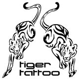 Tattoo - tiger Royalty Free Stock Image