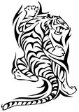 Tattoo - tiger Royalty Free Stock Photo