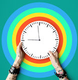 Tattoo Time Schedule Duration Punctual Second Concept stock photography