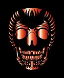 Tattoo tribal mexican skull vector art Stock Photography