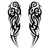 Tribal tattoos for men. Sleeve abstract design pattern for arm. vector illustration