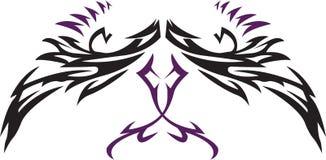 Tattoo Wings vector illustration