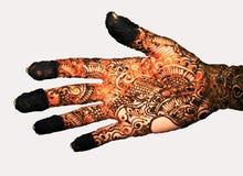 Tattooed hand Royalty Free Stock Image