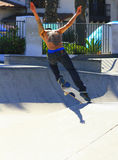Tattooed Skateboarder Royalty Free Stock Image