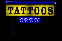 Tattoos Royalty Free Stock Image