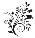 Tattoos in the form of an abstract bouquet Royalty Free Stock Photography