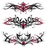 Tattoos, tribals, gems Royalty Free Stock Photography