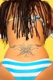 tattu πεταλούδων Στοκ φωτογραφία με δικαίωμα ελεύθερης χρήσης