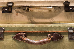 Tatty Suitcases Stock Photography