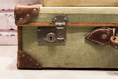Tatty Suitcases Royalty Free Stock Images