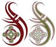 tatuaż plemienny Obrazy Royalty Free