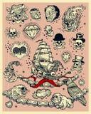 tatuaże ilustracja wektor