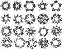 Tatuażu słońce, Płonie Plemiennego projekt royalty ilustracja