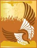 tatuaży skrzydła Obrazy Royalty Free