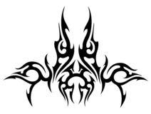 tatuaż editable Fotografia Royalty Free
