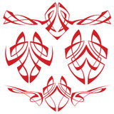 tatuaż plemienny ilustracja wektor