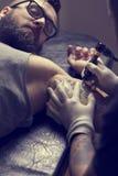 Tatuaż sztuka Fotografia Stock