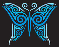 Tatuażu motyl Fotografia Stock