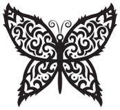 Tatuażu motyl Obraz Stock