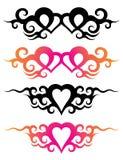tatuaży szablony Zdjęcia Royalty Free