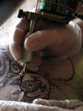 Tatuagem Fotografia de Stock