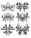Tatuagem abstrato da aranha Imagens de Stock