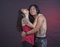 Tatuagem como uma forma Fotografia de Stock Royalty Free