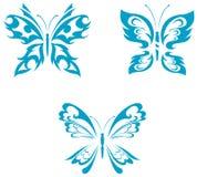 Tatuagem da borboleta Fotos de Stock