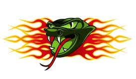Tatuagem da serpente Fotos de Stock Royalty Free