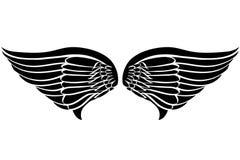 Tatuagem das asas da águia Fotografia de Stock Royalty Free