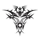 Tatuagem de um crânio Imagem de Stock