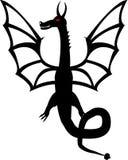 Tatuagem do dragão ilustração stock
