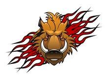 Tatuagem do varrão selvagem Imagem de Stock