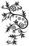 Tatuagem floral Imagem de Stock Royalty Free