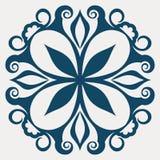 Tatuagem floral abstrato Fotos de Stock