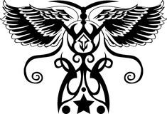 Tatuagem tribal Imagem de Stock