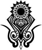 Tatuagem tribal Fotografia de Stock