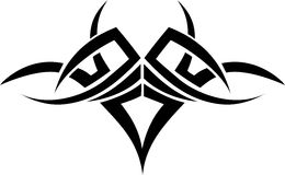 Tatuagem tribal ilustração stock