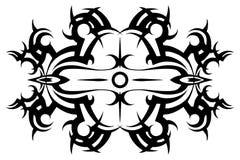 Tatuagem tribal Vetor tribal tattoo estêncil Teste padrão Projeto Ornamento Sumário imagens de stock