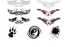 Tatuagens Fotografia de Stock