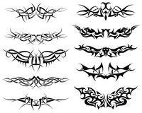 Tatuagens ajustados Fotos de Stock