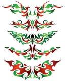 Tatuagens ajustados ilustração royalty free