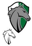 Tatuagens dos desenhos animados do cavalo Fotos de Stock